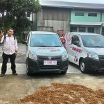 Foto Penyerahan Unit 2 Sales Marketing Mobil Dealer Suzuki Kudus Dimas Bustanul