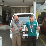 Foto Penyerahan Unit 3 Sales Marketing Mobil Dealer Suzuki Sukabumi Iim