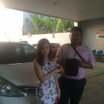 Foto Penyerahan Unit 5 Sales Marketing Mobil Dealer Nissan Surabaya Dodi Dwi