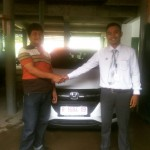 Foto Penyerahan Unit 4 Sales Marketing Mobil Honda Choky