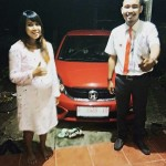 Foto Penyerahan Unit 6 Sales Marketing Mobil Honda Choky