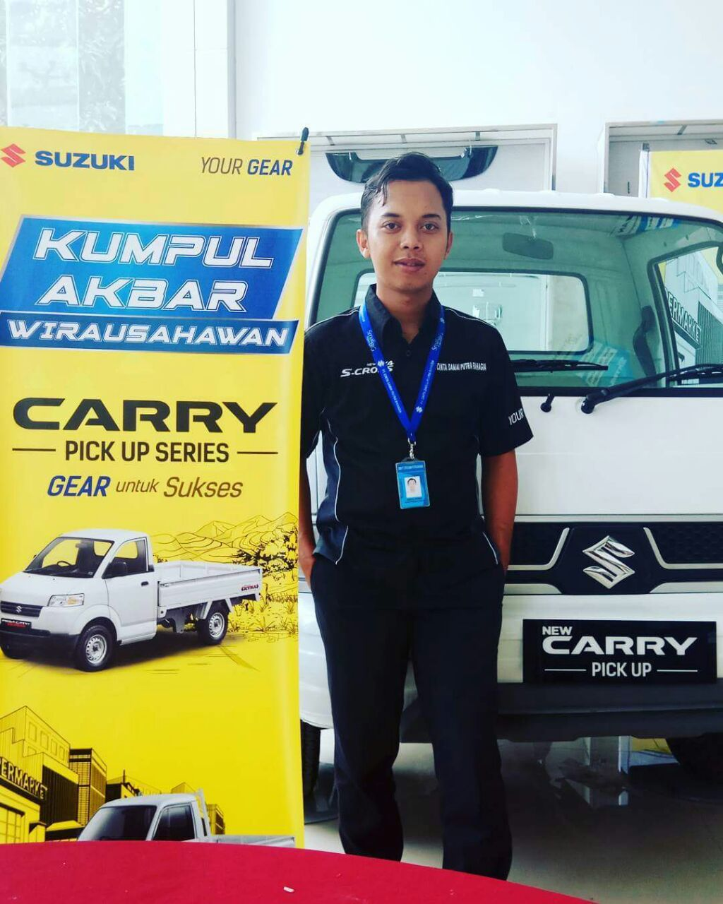 Sales Marketing Mobil Dealer Suzuki Indramayu Saeful Anwar