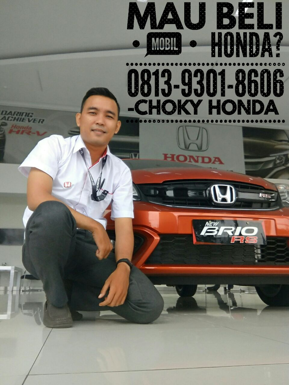 Sales Marketing Mobil Honda Choky