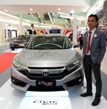Sales Marketing Mobil Honda Gresik Bayu Krisdianto