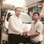 Foto Penyerahan Unit 1 Sales Marketing Mobil Dealer Toyota Pondok Indah Rozy