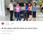 Foto Penyerahan Unit 12 Sales Marketing Mobil Dealer Mazda Medan Chandra Putra