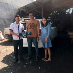 Foto Penyerahan Unit 2 Sales Marketing Mobil Dealer Datsun Surabaya Dio