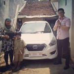 Foto Penyerahan Unit 25 Sales Marketing Mobil Dealer Mobil Nissan Datsun Tomy