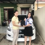 Foto Penyerahan Unit 3 Sales Marketing Mobil Dealer Datsun Idah