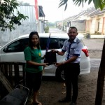 Foto Penyerahan Unit 5 Sales Marketing Mobil Dealer Datsun Kediri Sandi