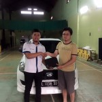 Foto Penyerahan Unit 5 Sales Marketing Mobil Dealer Datsun Surabaya Dio