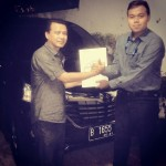 Foto Penyerahan Unit 5 Sales Marketing Mobil Dealer Toyota Pondok Indah Rozy
