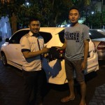 Foto Penyerahan Unit 6 Sales Marketing Mobil Dealer Datsun Surabaya Dio