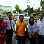 Foto Penyerahan Unit 7 Sales Marketing Datsun Arya