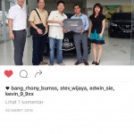 Foto Penyerahan Unit 9 Sales Marketing Mobil Dealer Mazda Medan Chandra Putra