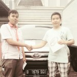 Foto Penyerahan Unit 9 Sales Marketing Mobil Dealer Toyota Pondok Indah Rozy