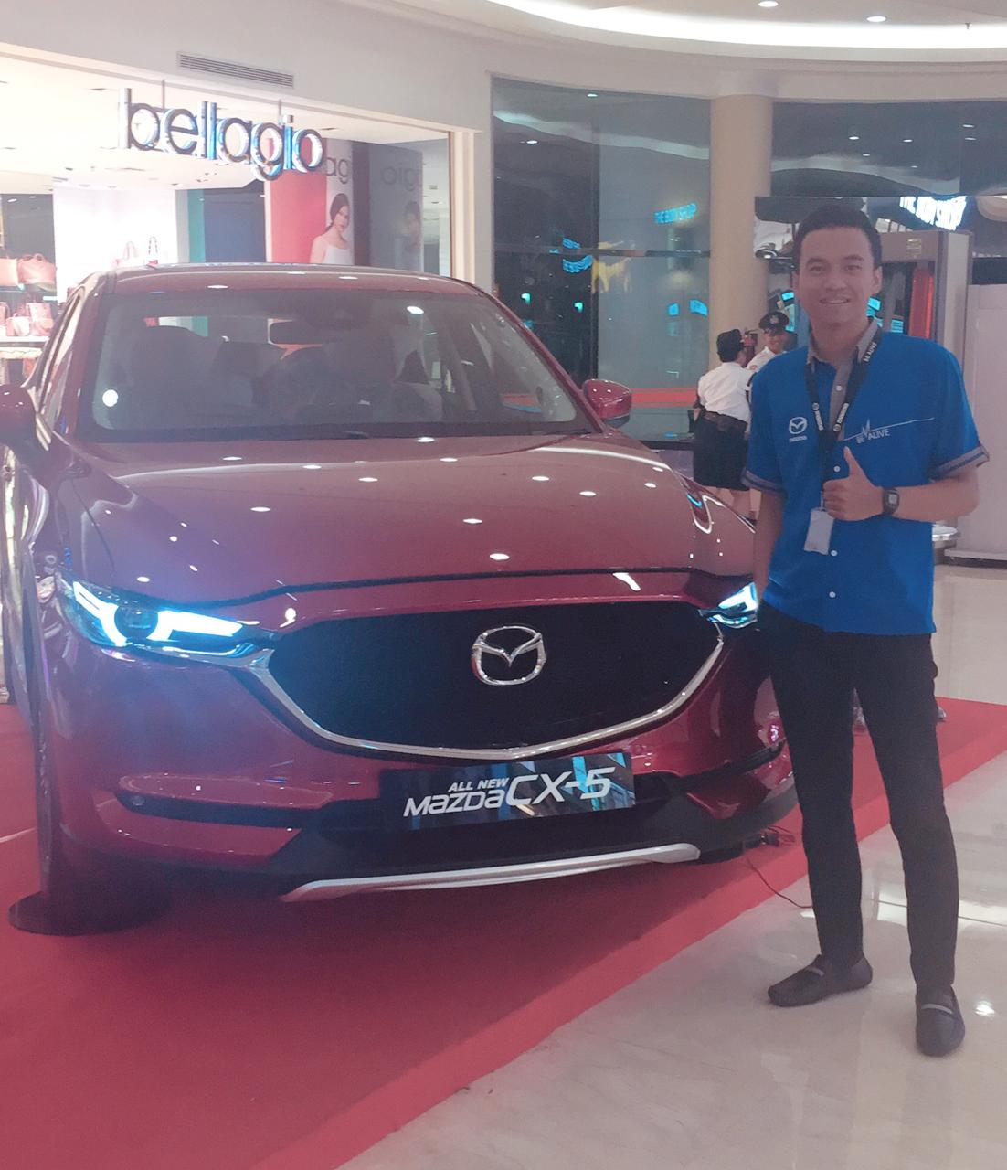 Sales Marketing Mobil Dealer Mazda Daniel