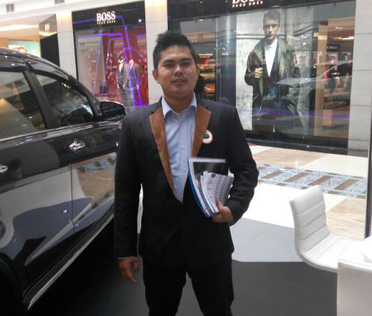 Sales Marketing Mobil Toyota Ciputat Dendi