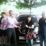 Foto Penyerahan Unit 1 Sales Marketing Mobil Dealer Datsun Dimas