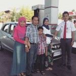 Foto Penyerahan Unit 5 Sales Marketing Dealer Mobil Honda Padang Sumatera Barat Ilwan Trio