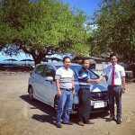 Foto Penyerahan Unit 6 Sales Marketing Dealer Mobil Honda Padang Sumatera Barat Ilwan Trio