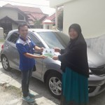 Foto Penyerahan Unit 7 Sales Marketing Mobil Dealer Honda Padang Jaya