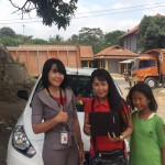 Foto Penyerahan Unit 1 Sales Marketing Mobil Dealer Nissan Purwakarta Cindy