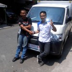 Foto Penyerahan Unit 3 Sales Marketing Mobil Dealer Daihatsu Pati Arif