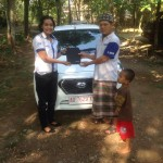 Foto Penyerahan Unit 5 Sales Marketing Mobil Dealer Datsun Solo Ava